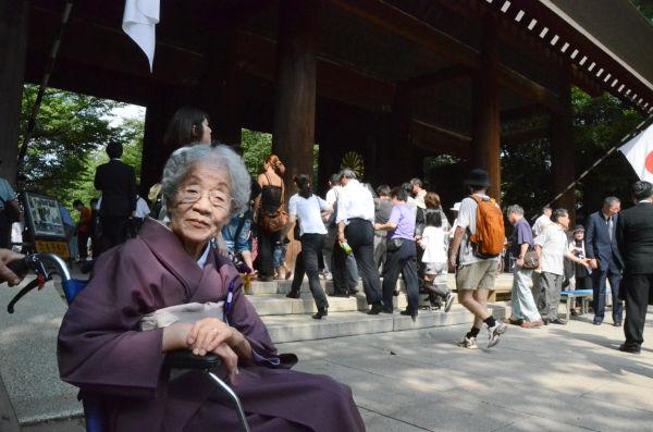 女性(95歳)の夫は昭和20年5月、華南戦線で玉砕した。終戦のわずか3か月前のことだ。(写真:筆者撮影)