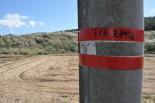 福島第一原発から45キロ地点。この辺りでプルトニウムが検出された。(飯舘村前田地区。写真:筆者撮影)