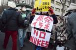 千葉県から駆け付けた非正規労働者。=写真:筆者撮影=