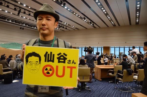 山本氏は国会内での会合にもよく顔を出していた。=4月、議員会館。写真:田中撮影=